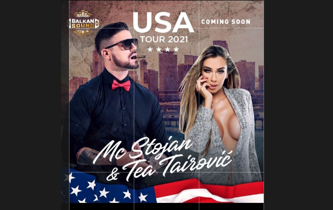 Tea Tairovic & MC Stojan покоряват САЩ